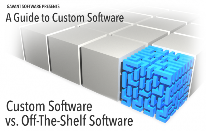 Custom Software vs. Off-The-Shelf Software