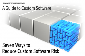 Part 5 highlights how to reduce custom software risk
